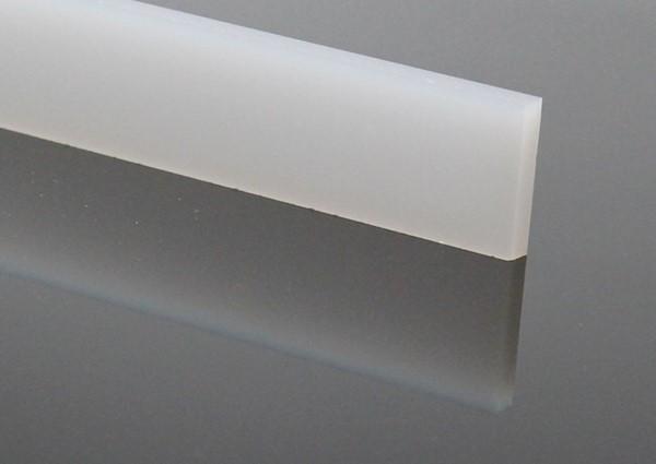 led f r direktes indirektes licht plexyglas wei satiniert f r led beleuchtung 160x3x0 6 cm. Black Bedroom Furniture Sets. Home Design Ideas