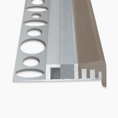 led f r direktes indirektes licht led aluminiumprofil f r treppen mit 1 2 cm fliesen anti. Black Bedroom Furniture Sets. Home Design Ideas