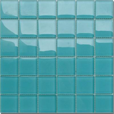 Led f r direktes indirektes licht glas mosaik t rkis klar - Mosaik fliesen turkis ...