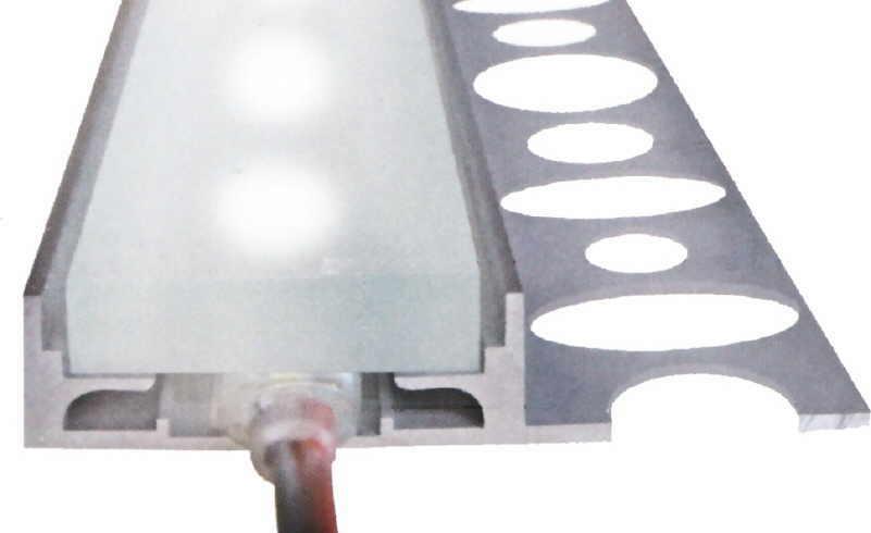 LED für direktes & indirektes Licht |Leuchtbordüre zum Einfliesen ...