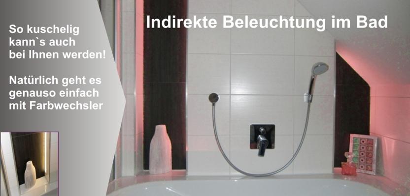 led f r direktes indirektes licht indirekte led beleuchtung f r 1 cm dicke fliesen 120 cm. Black Bedroom Furniture Sets. Home Design Ideas