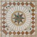 Mosaik Rosonen 33x33x0,8 cm Produktbild