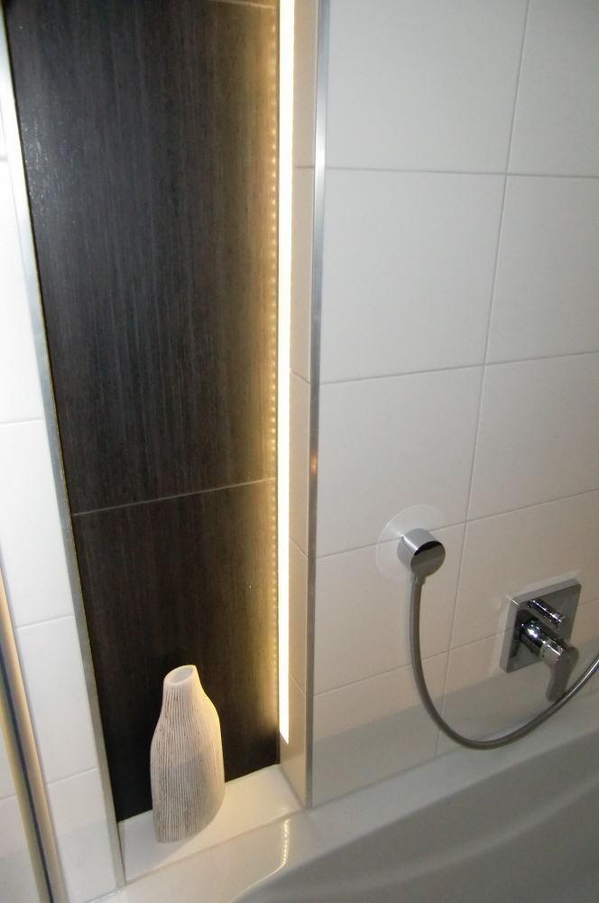 Indirekte Led Beleuchtung Für 12 Cm Dicke Fliesen 160 Cm Lang