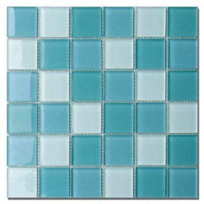 led f r direktes indirektes licht glas mosaik fliesen t rkis mix klar glasnuggets 4 8x4 8x0 8. Black Bedroom Furniture Sets. Home Design Ideas