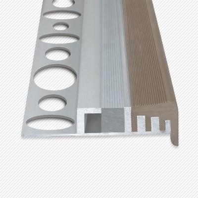led f r direktes indirektes licht led aluminiumprofil f r treppen mit 1 cm fliesen anti. Black Bedroom Furniture Sets. Home Design Ideas