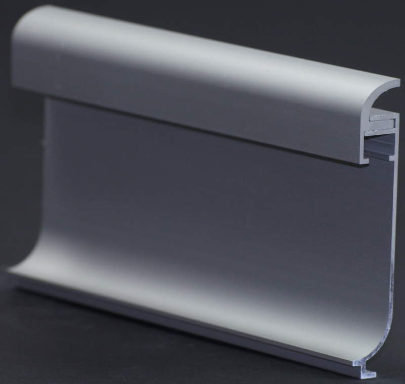 led f r direktes indirektes licht aluschiene f r led sockelbeleuchtung 50mm ohne. Black Bedroom Furniture Sets. Home Design Ideas